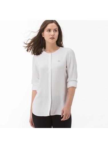 Lacoste Kadın  Gömlek CF0902.02A Beyaz